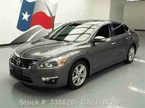 2014 nissan altima sunroof nissan altima 2 5 sl auto sunroof nav rear 18k 2014