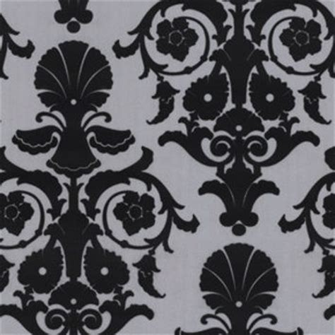 black and white flock wallpaper b q best black damask wallpaper products on wanelo