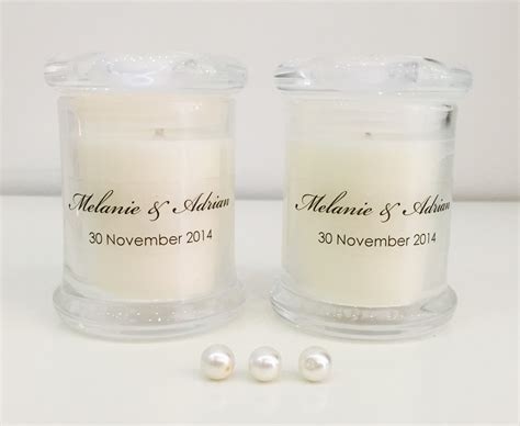 Bomboniere Candles Archives   Over the Rainbow Invites