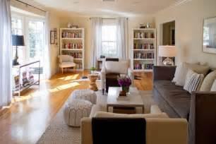 green narrow living room