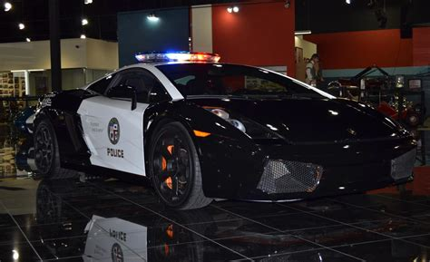 police lamborghini gallardo car and driver