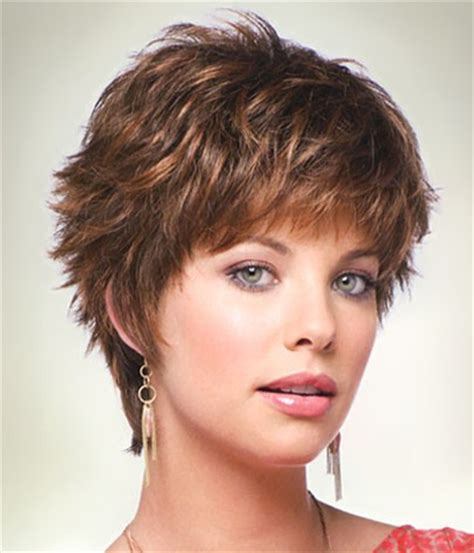 easy to manage short hairstyles for round faces tia by noriko wilshire wigs