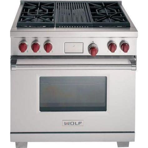 72 wolf 6 burner stove wolf df364c lp 36 quot dual fuel range with 4 sealed burners infrared charbroiler liquid propane