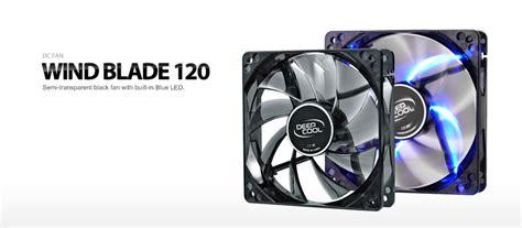 Fan Casing Lu 12x12cm kabum cooler fan deepcool wind blade 120 12x12cm silent big airflow blue led dp fled wb120