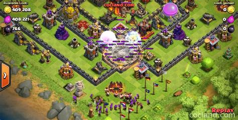 earthquake spell how to use the earthquake spell clash of clans land