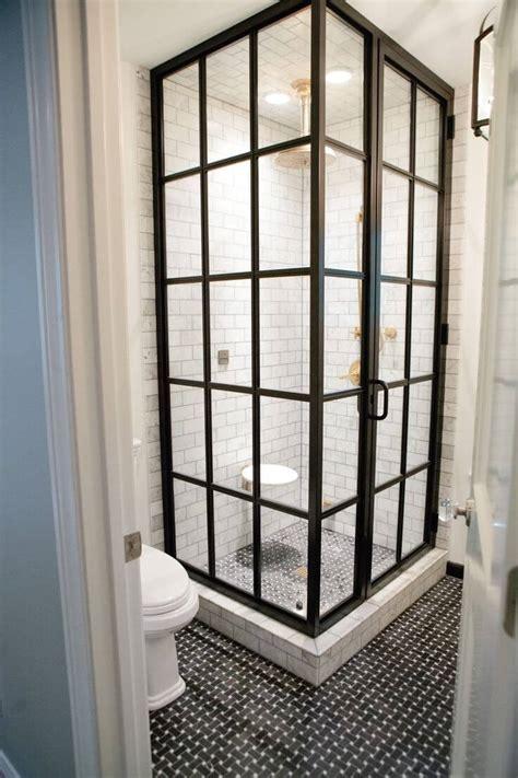 factory window shower door tendance les fen 234 tres en aluminium style industriel