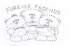 Images forever friends bear dot to dot forever friends bear dot to dot