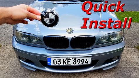 Bmw Emblem Replacement by Bmw And Trunk Emblem Replacement