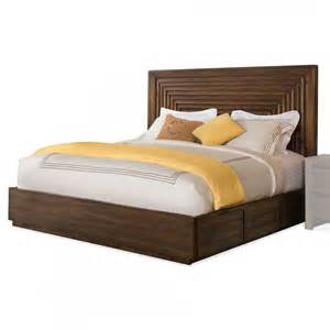 california king storage bed riverside furniture modern gatherings platform panel