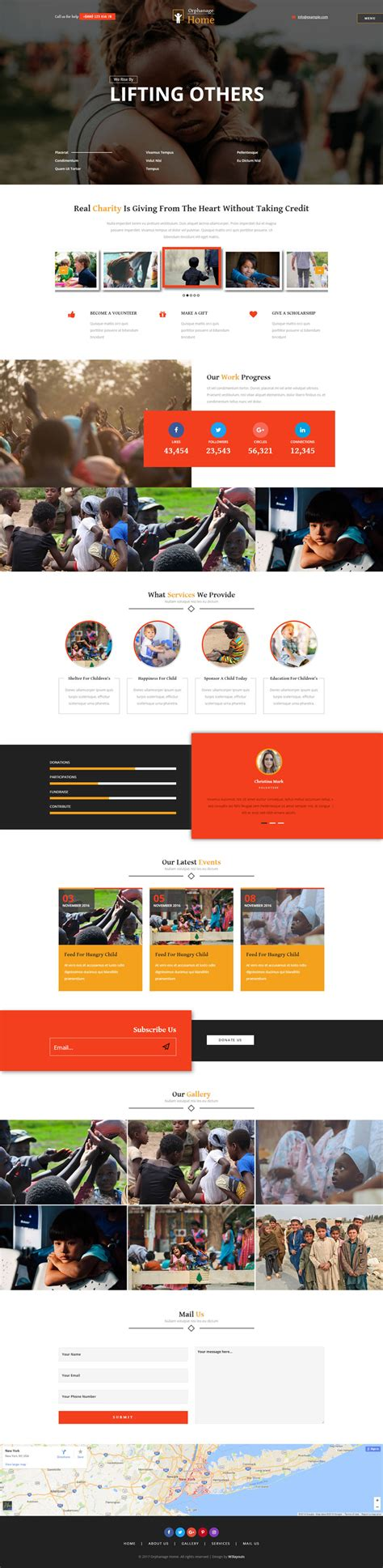 Orphanage Home A Society And People Category Bootstrap Responsive Web Template Orphanage Website Templates Free