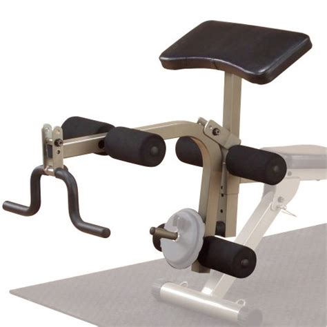 best fitness bench best fitness bfpl10 leg and preacher attachment for