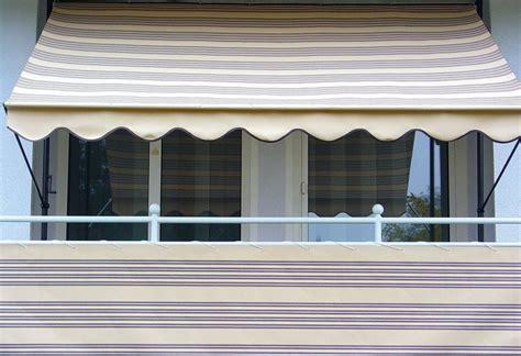 klemm markise balkon klemm markise 100 polyacryl beige braun kaufen otto