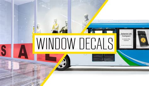 Window Decals For Business by Tutorial Create Custom Window Decals For Your Business