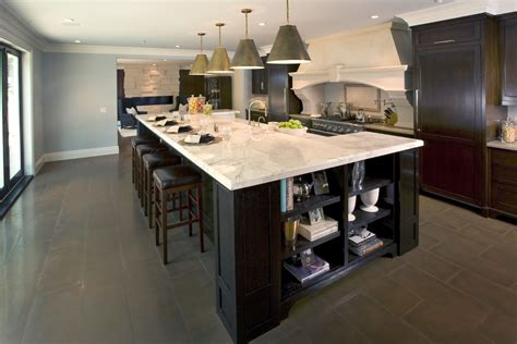 Large Kitchen With Island Kitchen Island Designs Kitchen Traditional With Eat In