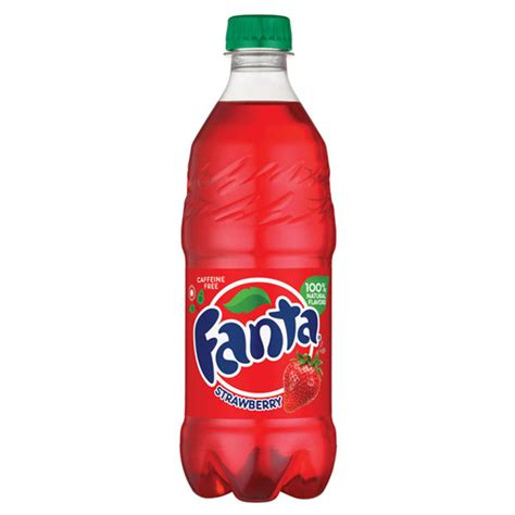 A Drink In A Bottle And Flvored 1 Hour Detox by Fanta Strawberry Flavored Soda 20 Oz Plastic Bottles
