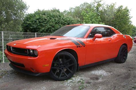Dodge Challenger Image: Dodge Challenger Black Rims