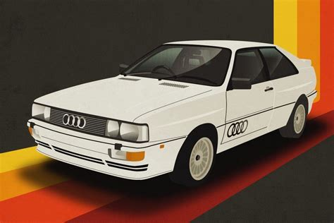 Audi Poster by Your Favourite Classic Cars Revealed Honest
