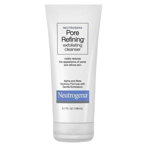 Neutrogena Pore neutrogena 174 pore refining 174 exfoliating cleanser wash