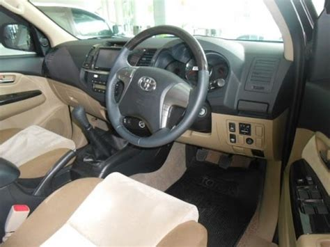 Fortuner Interior 2014 by 2014 Toyota Fortuner 2 5 G Vnt Mesin Interior Exterior