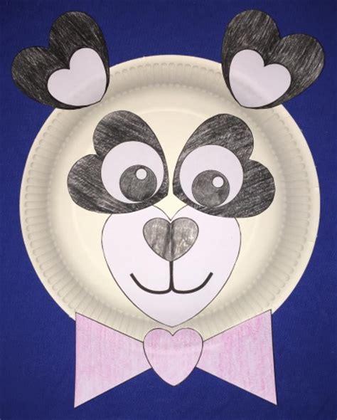 Panda Paper Plate Craft - panda paper plate craft