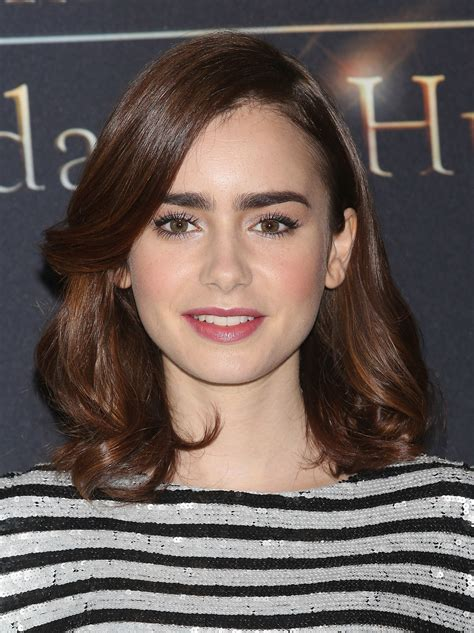 Lizly Hairstile | lily collins hairstylist stylecaster