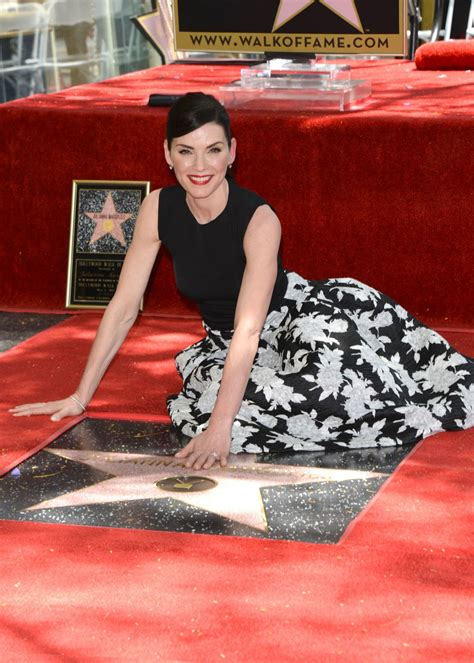emma watson hollywood star julianna marguiles honored with a star on the hollywood