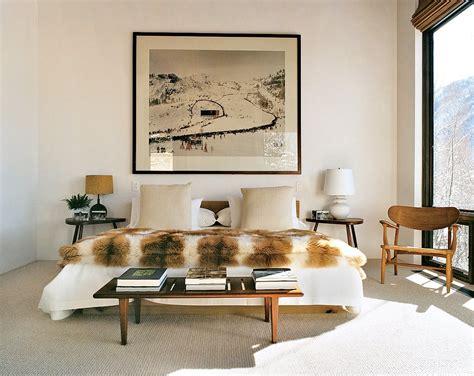 Vogue Home Decor aerin lauder s aspen ski lodge testoni