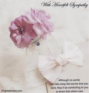 sympathy card messages beautiful condolences cards in loving memory grief all free