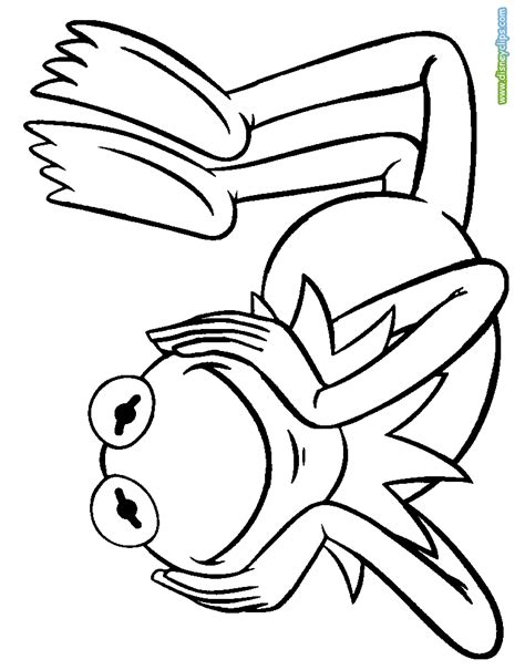 coloring book pages of the muppets coloring pages disney coloring book