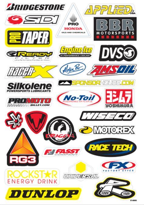 Kaos Nascar Logo 1 logo vector sponsor motocross pack 5 kuro design