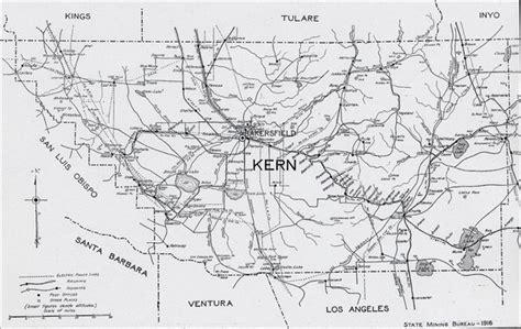 map of bakersfield kern county 1916 map bakersfield ca mappery