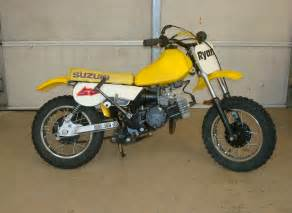 Jr50 Suzuki Greasy And Busted Knuckles 1980 Something Suzuki Jr50