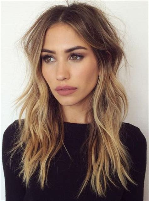 hairstyles with bangs and middle part 25 best ideas about middle part hairstyles on pinterest