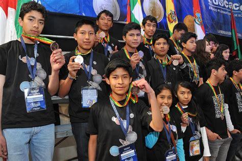 olimpiadas cientificas estudiantiles plurinacionales unidad educativa san agust 237 n es premiada por destacar en