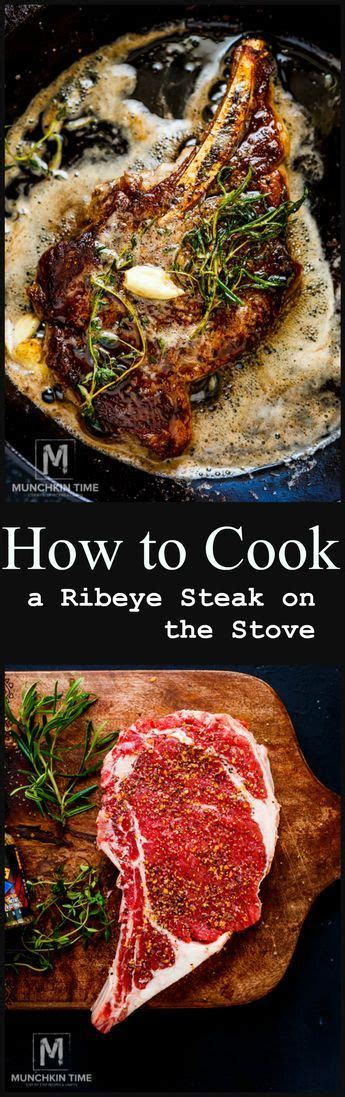 cook  ribeye steak   stove easy step