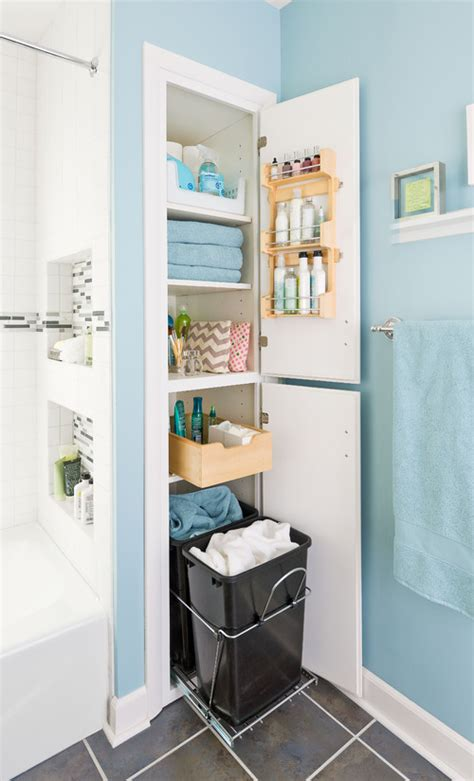 Storage In Small Bathroom by Great Bathroom Storage Ideas Remodeling