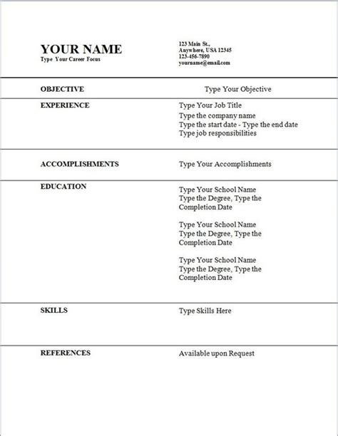 How Do I Get A Resume Template On Word by Students Resume Sle Students Resume Sle Will Give Ideas And