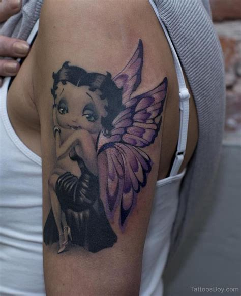 small betty boop tattoo betty boop tattoos designs pictures page 4