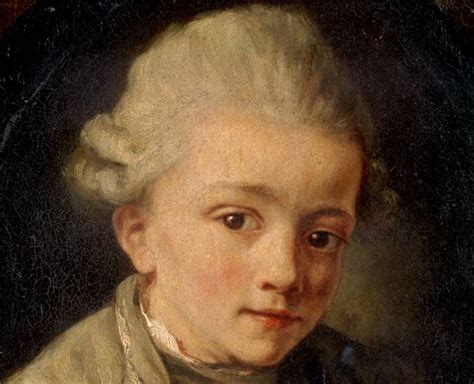 mozart born where identification of the greuze mozart 1763 1764
