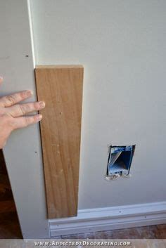 premade wainscoting panels 1000 ideas about picture frame wainscoting on