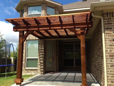 Square Arbor Pergola Custom Made For Allen Texas Hundt Custom Made Pergola