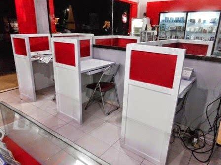 Meja Untuk Warnet meja sekat untuk warnet ibu lies semarang furniture