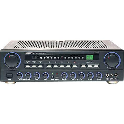 best karaoke mixer vocopro da 4080 two microphone karaoke mixer da 4080fx b h