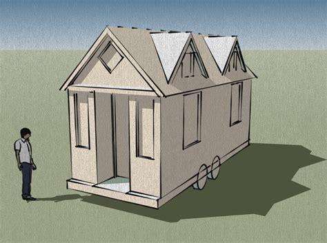 Porch Designs For House Trailers Joy Studio Design Tiny House Plans With Dormers