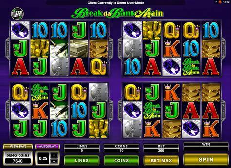 bank spiele spielautomat mega spin de bank again kostenlos