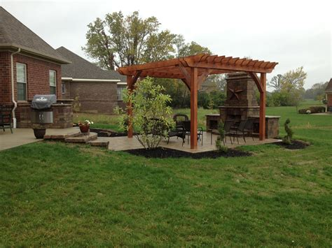 backyard pergola two brothers brick paving portfolio two brothers brick