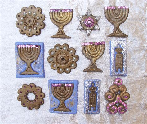 make gorgeous chanukah decorations from baker s clay