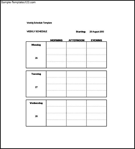 daily weekly monthly task list template sle templates