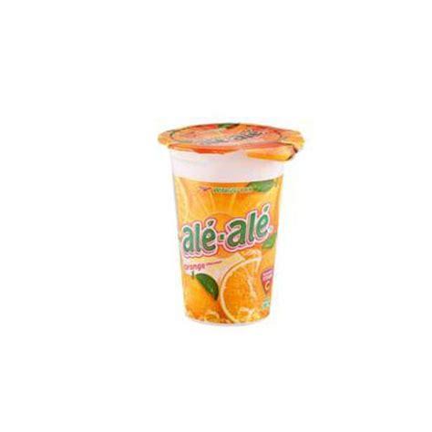 mentimun ale ale orange cup 24x200ml rincian produk