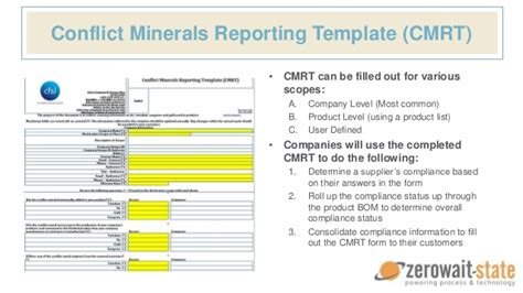 eicc conflict minerals reporting template conflict minerals management software environmental